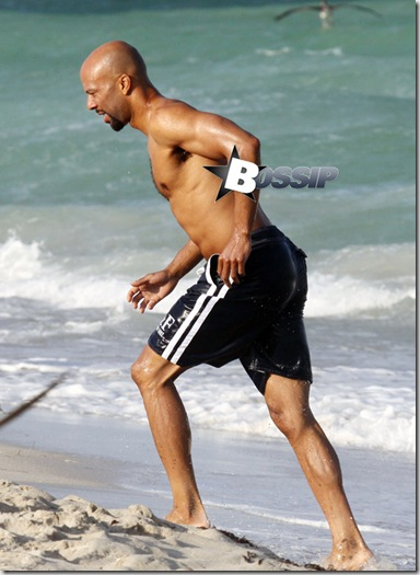 #5841625 Rapper Common enjoys some solo jet ski time in Miami, Florida on October 4, 2010 where he vacationed with girlfriend Serena Williams.   Fame Pictures, Inc - Santa Monica, CA, USA - +1 (310) 395-0500