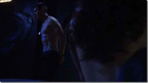 brian j. smith shirtless stargate universe