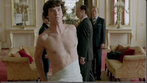 benedict cumberbatch shirtless sherlock