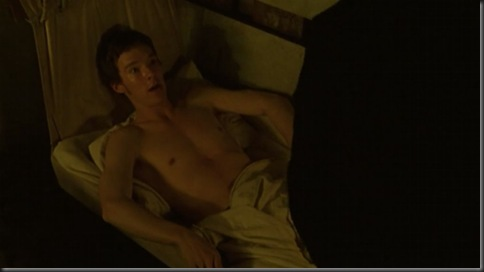 benedict cumberbatch shirtless to the ends of the earth