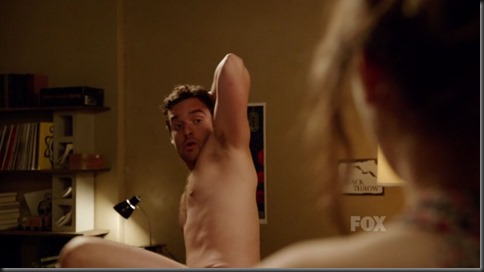 jake m. johnson shirtless new girl