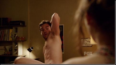 jake m. johnson shirtless new girl