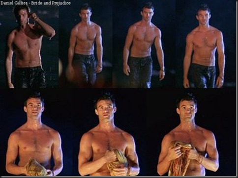 daniel gillies shirtless