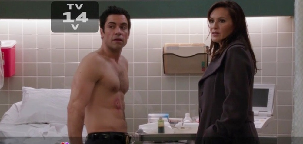 Danny Pino Shirtless Law And Order Svu