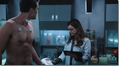 brett dalton shirtless Marvel's Agents of S.H.I.E.L.D.